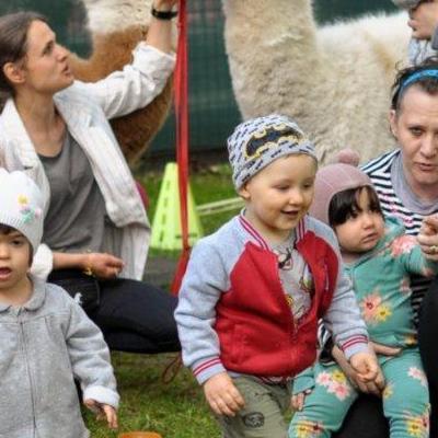 dzieci poznają zwierzęta 16